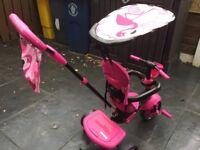 Smartrike pink- baby/ toddlerbike