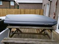 Halfords 360l roof box