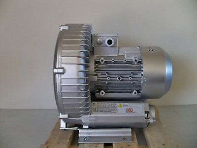 Regenerative Blower 3.4hp 150cfm 116h2o Press 220480v3ph Goorui 003 34 1r5