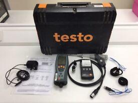 Testo 327 flue gas analyser kit