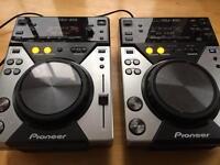 Pioneer cdj 400 cdj400 pair full working order