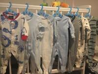 Baby Boys 0-3 Months sleepsuits next / joules