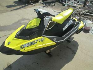 2016 Sea-Doo SPARK 3-UP ROTAX 900 ACE + IBR + CONVENIENCE Cambridge Kitchener Area image 6