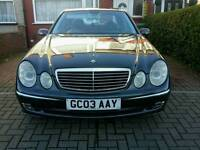 Mercedes E CLASS 320CDI AVANTGARDE, low mileage ,FULL LOADED!!!SAT NAVIGATION,(not BMW AUDI PASSAT