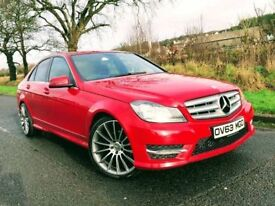 🔥🔥 2013 Mercedes C-Class AMG Sport 220 AUTO🔥🔥👉👉FINANCE FROM £60 PER WEEK 👈👈