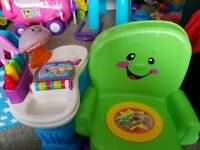 Fisher price sit and learn chair