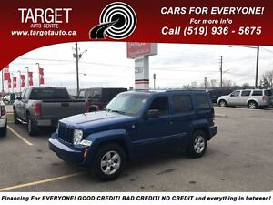 2009 Jeep Liberty Sport 4X4, Drives Great, Very Clean and More !
