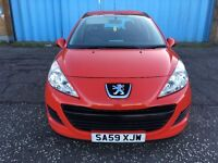 (59) Peugeot 207 s 1.4 , mot - October 2017, only 51,000 miles , service history ,clio,corsa,fiesta