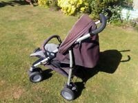CHICCO MULTIWAY STROLLER BABY PUSHCHAIR WITH RAINCOVER AND MORE