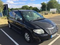 2005 55 CHRYSLER GRAND VOYAGER 2.8 LIMITED XS AUTO 7 SEATER FAULTY GEARBOX SAT NAV DVD PX SWAPS