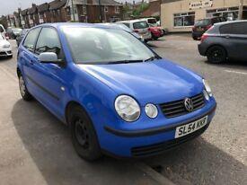 Volkswagen polo 2004/54 reg px to clear £495