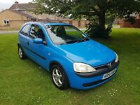 Vauxhall Corsa 1.2 16v COMFORT COMES WITH LONG MOT Excellent first car Manual FIRST TO SEE WILL BUY