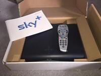 Sky+ box with remote
