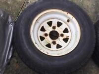 "Austin mini weller wheels 10"" x2"