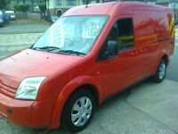 FORD TRANSIT CONNECT T230 L90. 57 REG. RED