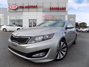 2013 Kia Optima SX Turbo Navi Toit pano Bancs ventilés FULL ÉQUI
