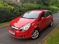 2007 VAUXHALL CORSA SXI 1.4 PETROL 5 DOOR,LOW MILEAGE,VERY GOOD COND.