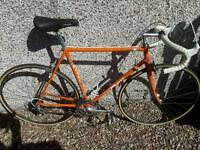 Vintage road bike