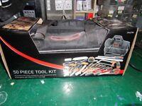B and Q 50 piece Tool Kit ( New Unused )