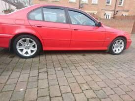 BMW e39 520i Imola Red