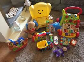 Fisher price bundle of toys