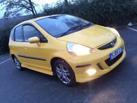 2005 HONDA JAZZ 1.4 i-DSI SE SPORT YELLOW - FULL BODY KIT - HPI CLEAR - FULL HISTORY