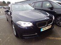 BMW 5 SERIES 520d SE 5dr (blue) 2013