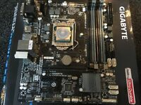 Pc Upgrade kit i5 processor + motherboard with onboard video + 16gb crucial ram