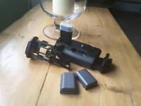 Canon BG-E5 Battery grip - 450D, 500D, 1000D plus 2 x batteries