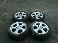 """17"""" Mercedes alloys"""