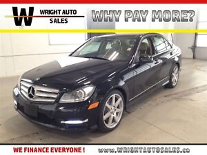 2013 Mercedes-Benz C-Class 4MATIC| LEATHER|SUNROOF|90,320 KMS
