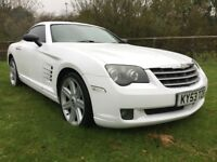 2003 53 CHRYSLER CROSSFIRE 3.2 V6 2 DOOR COUPE AUTOMATIC 12 MONTH'S M.O.T WHITE