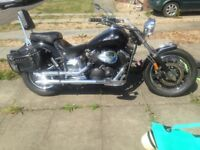 Yamaha Dragster 1100cc 19500miles, MOT February 2019. 2 keys cover 2 chains.