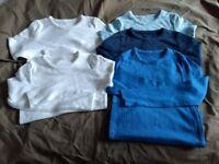 M&S Long Sleeve Vests