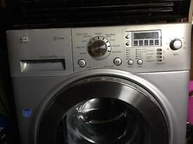 LG 1400 spin, 8 kg washer