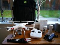 DJI Phantom Standard 3 Quadcopter Drone with Carry Case / Backpack and Box