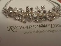 Wedding Tiara by Richard Designs