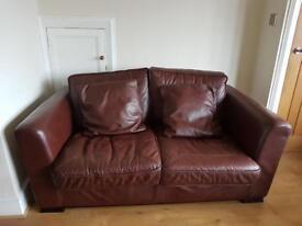 DFS Brown sofa set