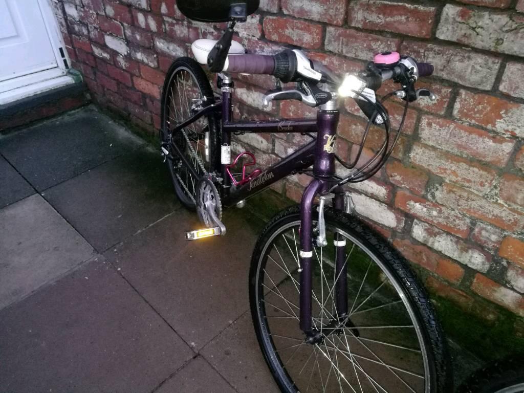 Mountain hybrid bike