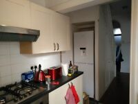 Kitchen - Full set of cream cabinets/drawers and ceramic sink