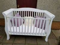 Sleigh Toddler Cot Bed