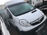 VAUXHALL VIVARO LWB HITOP 2011REG , SPARES OR REPAIR FOR SALE