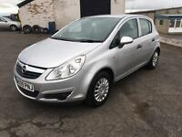 2009 (09) VAUXHALL OPEL CORSA 1.2 IN SILVER
