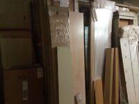Large quantity of German wardrobe parts (new) mixed lot, parts missing