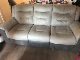 3 & 2 seater electric recliner sofas