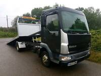 Daf recovery not Transit Iveco Mercedes tilt and slide with spec lift