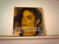 Michael Jackson Wall Quote