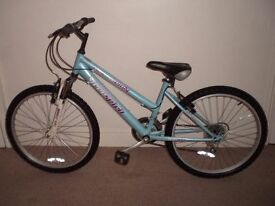 "Freespirit Trendy (14"" frame, 24"" tyres) Hardtail Mountain Bike (suit 9 to 12 yr) (will deliver)"