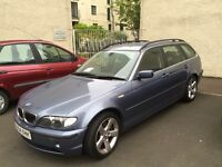 BMW 330SE D Touring Estate.2004/05 Low Mileage and FULL SERVICE AND MAITENANCE HISTORY