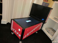 mini digital virtual pinball table, project, awesome plays tons of tables